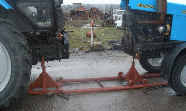 Приспособление для раскатки трактора мтз 80 своими руками 82